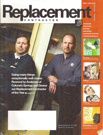 Kevin Orf Featured in Replacement Contractor Magazine