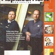 "Kevin Orf, Owner Named ""Contractor of the Year"" by Replacement Contractor Magazine"