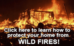 Learn how to protect your home from wildfires